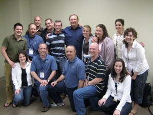 Rick Warren, New Life Staff, and me
