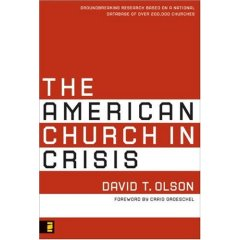 Dave Olson - the american church in crisis